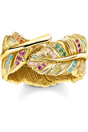 Thomas Sabo Ring Feder gold