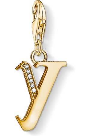 Thomas Sabo Charm-Anhänger Buchstabe Y gold