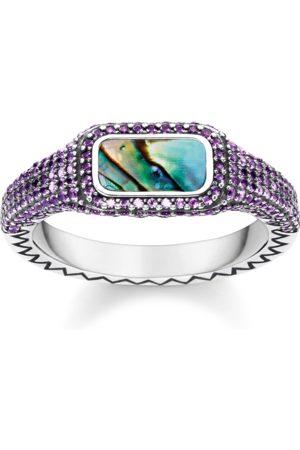 Thomas Sabo Ring Farbenspiel lila