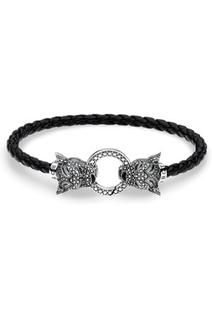 Thomas Sabo Lederarmband Black Cat