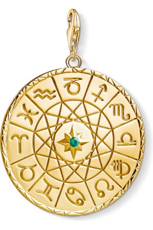 Thomas Sabo Charm-Anhänger Sternzeichen Coin gold