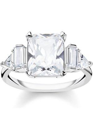 Thomas Sabo Damen Ringe - Ring Weiße Steine