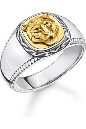 Thomas Sabo Herren Ringe - Ring Tiger gold