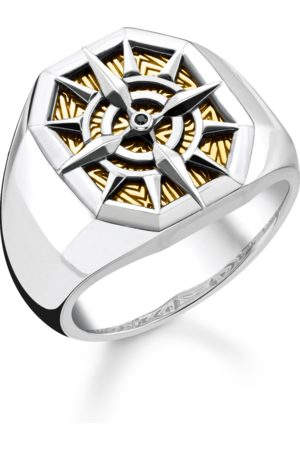 Thomas Sabo Ring Kompass gold