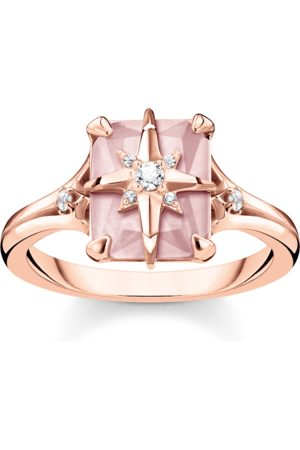 Thomas Sabo Ring Stein rosa mit Stern