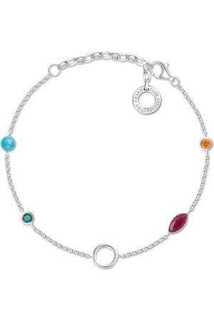 Thomas Sabo Charm-Armband Farbige Steine