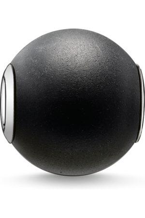 Thomas Sabo Bead Obsidian mattiert