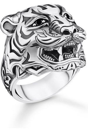 Thomas Sabo Ring Tiger silber