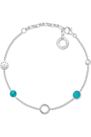 Thomas Sabo Charm-Armband Türkise Steine