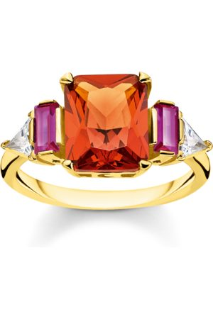 Thomas Sabo Ring Farbige Steine gold