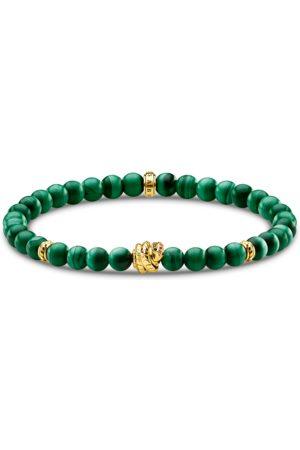 Thomas Sabo Damen Armbänder - Armband grüne Steine mit Schlange