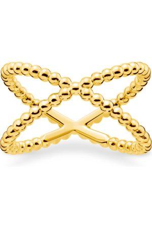 Thomas Sabo Ring Kugeln gold