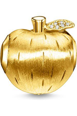 Thomas Sabo Damen Anhänger - Bead Apfel gold