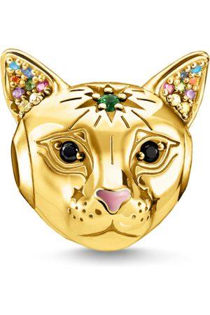 Thomas Sabo Bead Katze gold