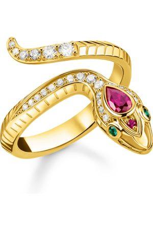 Thomas Sabo Ring Schlange gold
