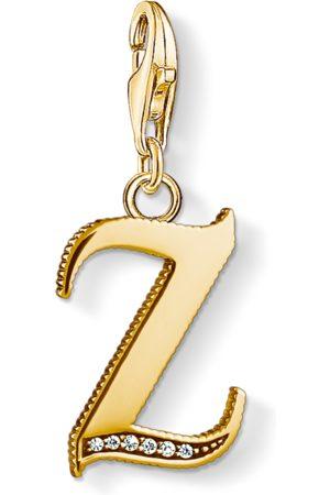 Thomas Sabo Charm-Anhänger Buchstabe Z gold