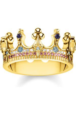 Thomas Sabo Ring Krone gold