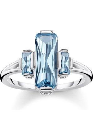 Thomas Sabo Ring große blaue Steine