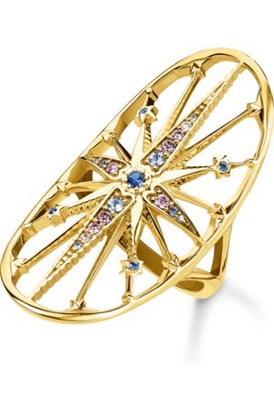 Thomas Sabo Ring Royalty Stern gold