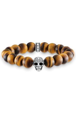 Thomas Sabo Armband Power Bracelet Totenkopf mit Lilie