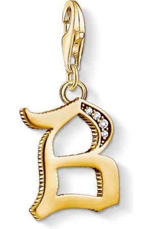 Thomas Sabo Charm-Anhänger Buchstabe B gold