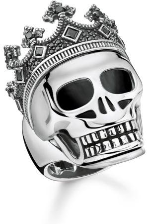 Thomas Sabo Ring Totenkopf Krone