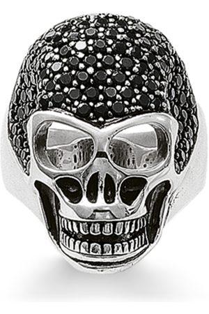 Thomas Sabo Ring Totenkopf Pavé