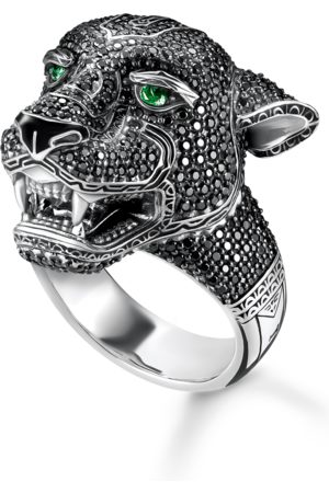 Thomas Sabo Ring Black Cat