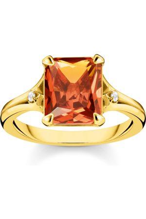 Thomas Sabo Ring Oranger Stein