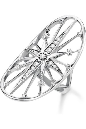 Thomas Sabo Ring Royalty Stern silber