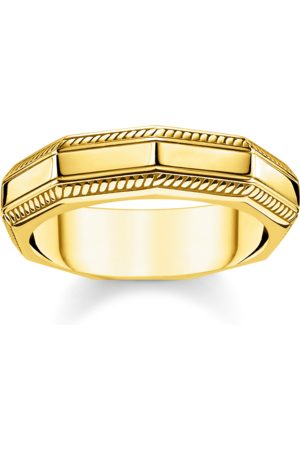 Thomas Sabo Ring Eckig gold