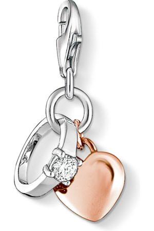 Thomas Sabo Charm-Anhänger Ring mit Herz
