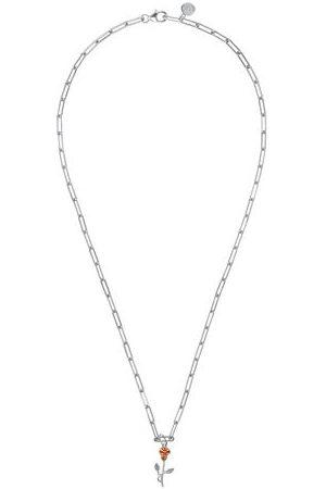 Amor Halsketten - Kette mit Anhänger | Choker, Sterling 925, Rose bicolor, , 50 cm