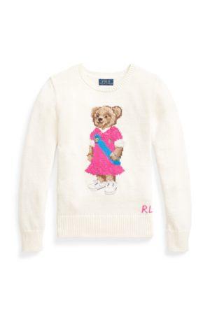 Ralph Lauren Baumwollpullover mit Polo Bear