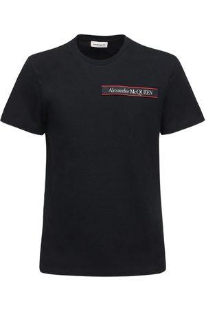 Alexander McQueen T-shirt Aus Baumwolle Mit Logo