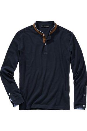 Mey & Edlich Herren Poloshirts - Herren Plus-Polo navy