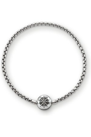 Thomas Sabo Armband für Beads Geschwärzt