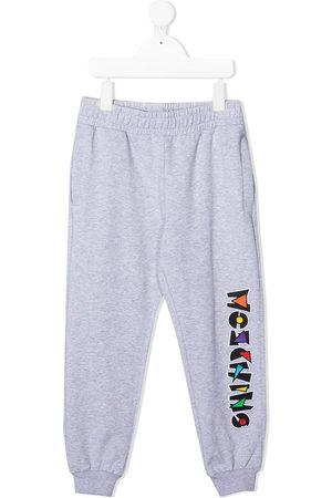 Moschino Jungen Lange Hosen - Jogginghose mit Logo-Print