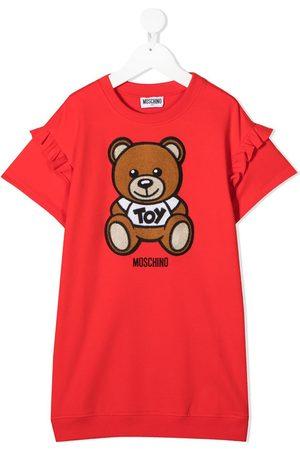 Moschino Sweatshirtkleid mit Teddy-Print