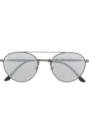 Giorgio Armani Sonnenbrille mit rundem Gestell