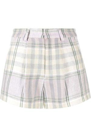 Isabel Marant Étoile Shorts mit Check