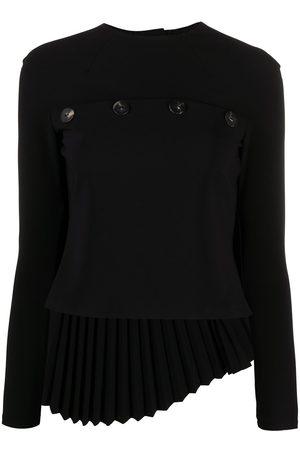 A.W.A.K.E. MODE Damen Blusen - Plissierte Bluse