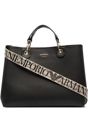 Emporio Armani Damen Handtaschen - Shopper mit Logo-Print