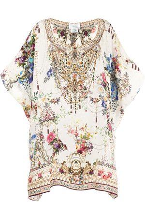 Camilla Damen Freizeitkleider - Kleid mit Blumen-Print