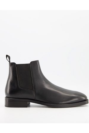 Moss Bros Moss London – Chelsea-Stiefel aus Leder in