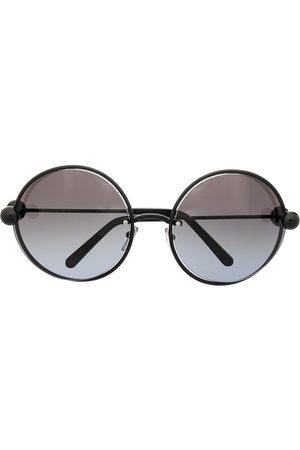 Marni Sonnenbrille mit rundem Gestell