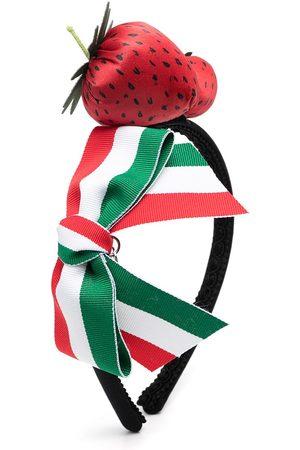 MONNALISA Haarreif mit Erdbeerapplikation