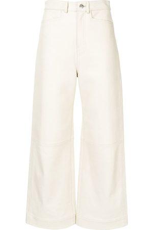 PROENZA SCHOULER WHITE LABEL Culottes aus Leder