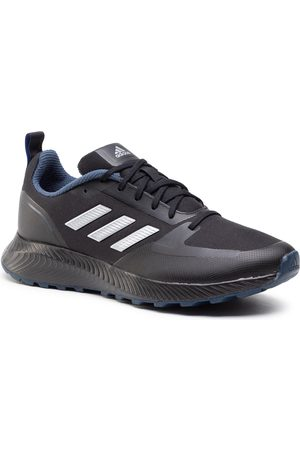 adidas Herren Outdoorschuhe - Runfalcon 2.0 Tr FZ3578 Cblack/Silvmt/Crenav