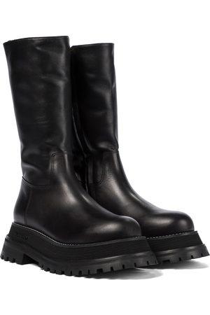 Burberry Stiefel aus Leder